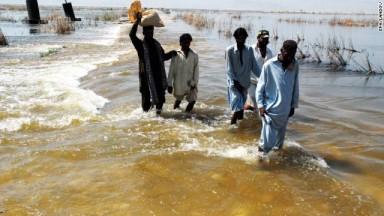 Figure 3: Flooding in Pakistan