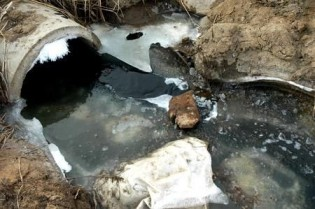 Figure1. Water pollution in Changzhi, China.
