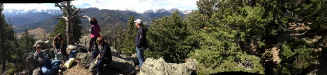 Journey into Rocky Mountain National Park, looking for a peak with intrepid travelers.