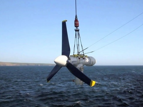 Tidal Turbine design concept by Atlantis Resources, Ltd.