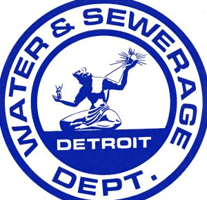 Figure 1 – The logo for the Detroit Water and Sewerage Department.
