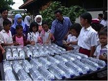 SODIS water bottles