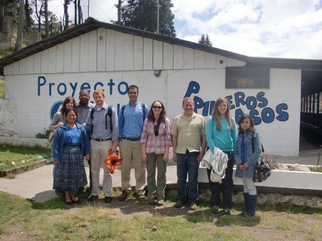 EWB Members in Las Majadas, Guatemala.