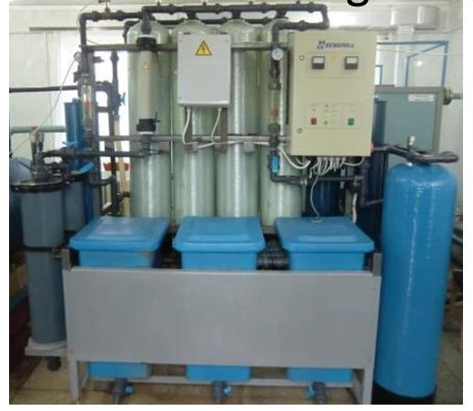 Figure 1. Aquifer water purification system developed by Novosibirsk Institute of Mining. (Source: 1st Petr, 2016)