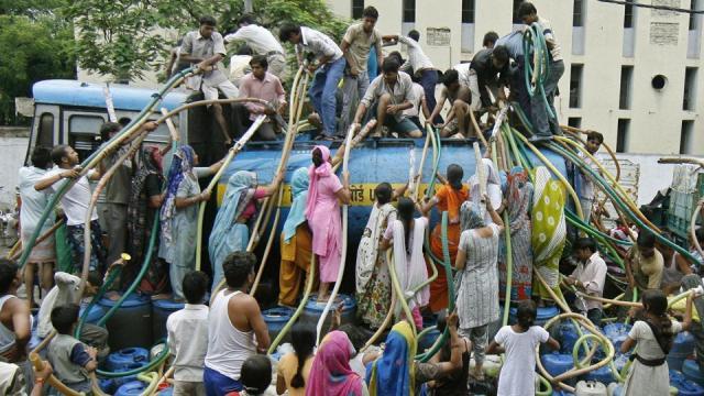 New Delhi Water Crisis